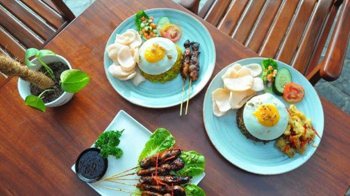 Menikmati Makanan Sambil Melihat Hamparan Rumput dan Kolam Teratai di Resto Kebun Raya Bogor