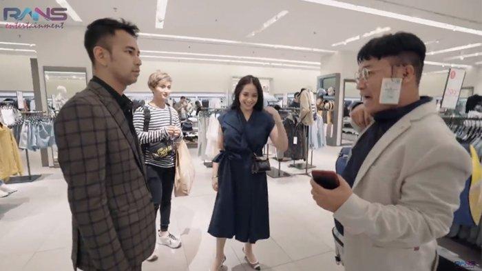 Raffi Ahmad Traktir Merry Borong Pakaian Hampir Rp 10 Juta, Nagita Slavina Ikut Seleksi Barang Mahal