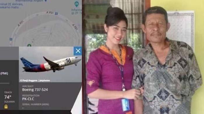 2 Minggu Sebelum Sriwijaya Air Jatuh, Pramugari Mia Sempat Ucap Permintaan Terakhir Ini ke Orangtua