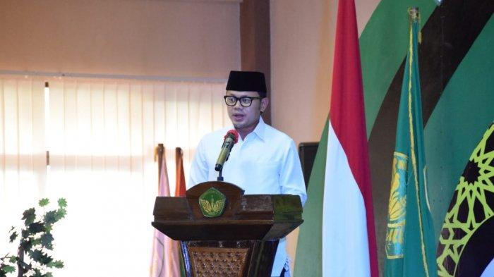 Wali Kota Bogor Bima Arya saat hadiri Milad ke-60, Universitas Ibn Khaldun (UIKA).