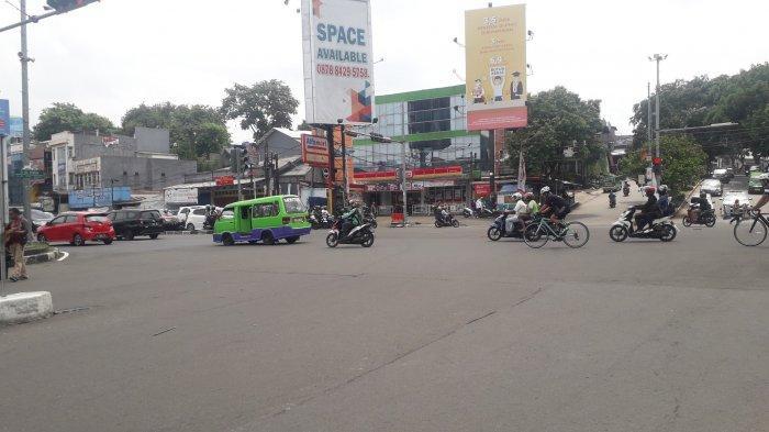 INFO Lalu Lintas - Saat Ini Simpang Warung Jambu Kota Bogor Ramai Lancar