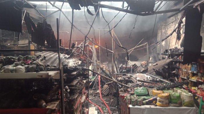 Minimarket di Cileungsi Bogor Terbakar, Isinya Ludes Dilalap Api