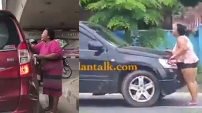 Pernah Viral karena Gedor Kaca Mobil, Wanita Tambun Ini Punya Cara Baru untuk Dapat Rp 2 ribu