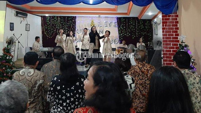 Misa Natal di Gereja Bethany Indonesia Bogor Berlangsung Khidmat