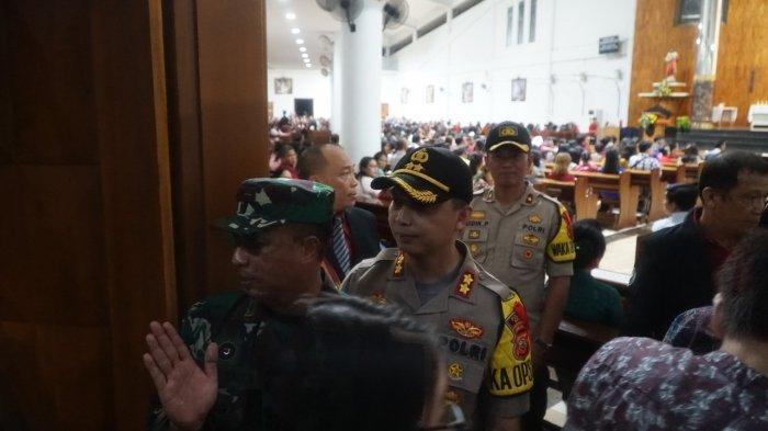 Misa Natal di Kabupaten Bogor Aman, Polres Bogor Sebar 200 Petugas Gabungan