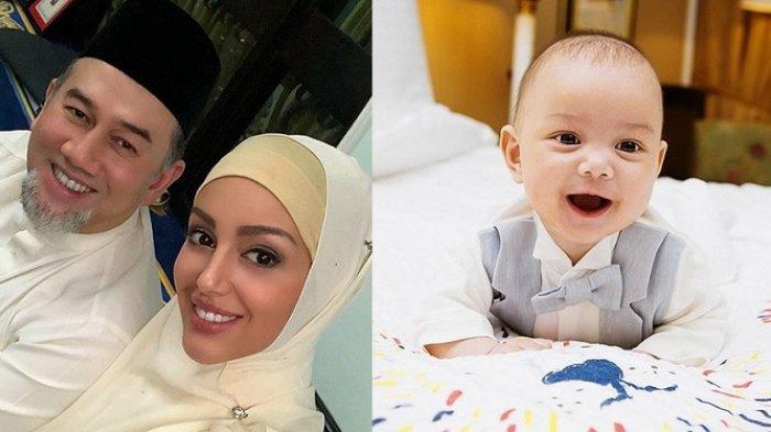 Miss Rusia Oksana Veovodina Akhirnya Pamer Wajah Bayi yang Diragukan Sebagai Anak Raja Malaysia