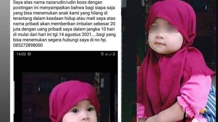 Misteri Bocah 2 Tahun Hilang, Keluarga Siapkan Rp 20 Juta, Peramal Singgung Roh Halus : Dia Diculik