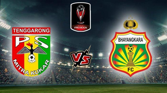Link Live Streaming Mitra Kukar Vs Bhayangkara FC Piala Presiden 2019 - Kick Off Pukul 15.30 WIB