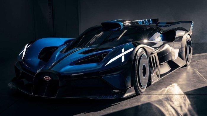 Intip Keunggulan Mobil Konsep Bugatti Bolide, Didesain untuk Taklukkan Sirkuit Dunia