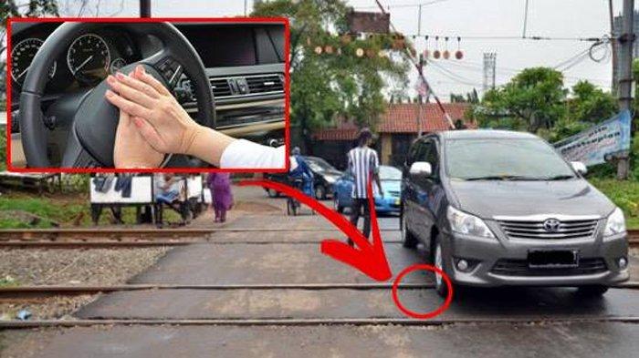 Jika Mobil Mogok di Perlintasan Kereta Api, Tekan Klakson untuk Nyalakan Mesin ! Ini Penjelasannya