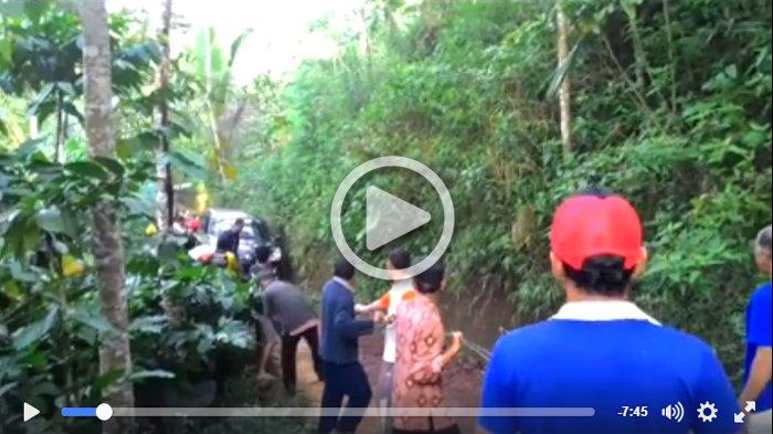 Video Mobil 'Nyasar' di Perkebunan Temanggung Bikin Heboh, Netizen Salut Proses Evakuasinya