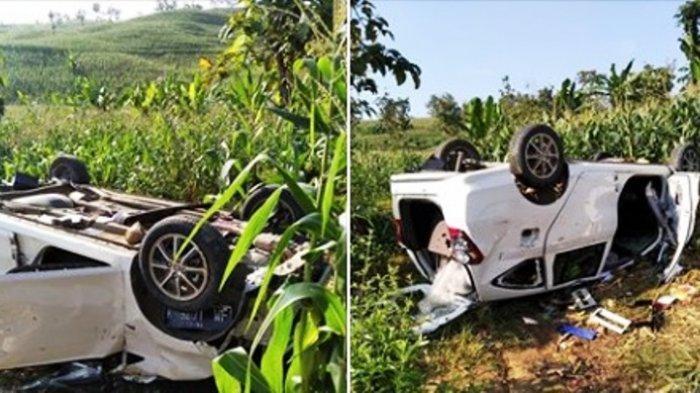 Pria Asal Grobogan Ketahuan Maling Pisang di Sukolilo Pati, Mobilnya Rusak Parah Diamuk Warga