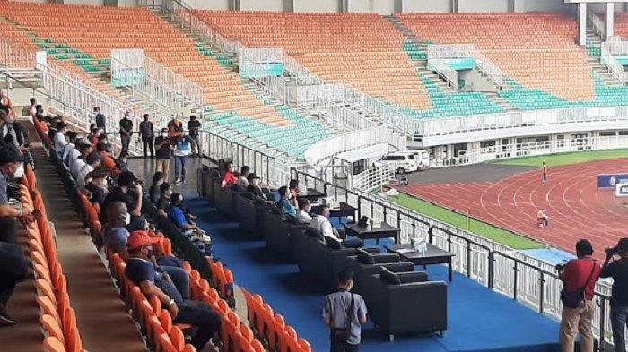 Datang ke Stadion Pakansari, Ketum PSSI dan Menpora Nonton Laga Arema FC Kontra Bhayangkara FC
