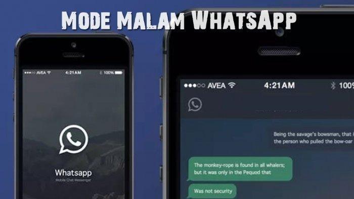 Tutorial Cara Aktifkan Dark Mode di WhatsApp, Ikuti Langkah Ini untuk Pakai Mode Gelap di WA