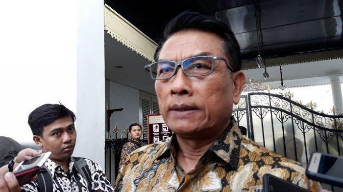 Isu Bakal Didepak Jokowi saat Reshuffle Kabinet, Ini Kata Moeldoko