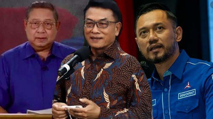Moeldoko Diangkat SBY Jadi KSAD, Kini Kudeta AHY di Demokrat, Rocky Gerung : Pemimpin Harus Beretika