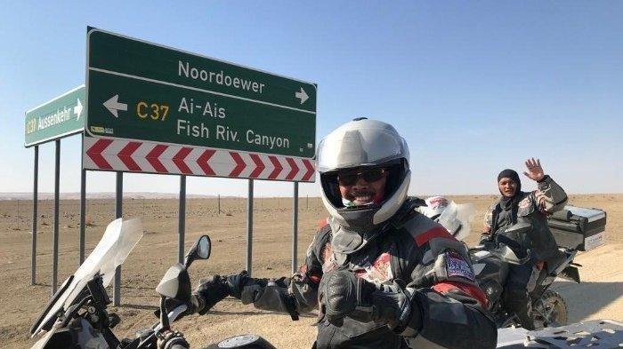 Putra Ketua MA Meninggal Kecelakaan Motor di Afrika, Jatuh dari Moge Saat Melintasi Wilayah Namibia