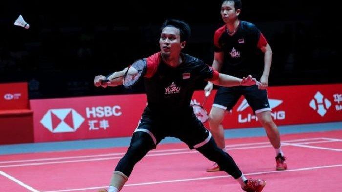 Hasil Indonesia Masters 2020 - Fajar/Rian Bertemu The Daddies di Semifinal