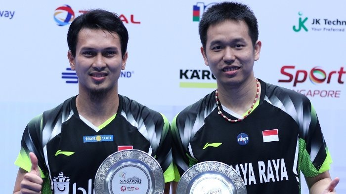Live Streaming Final BWF World Tour 2019: Ahsan/Hendra vs Endo/Watanabe Live di TVRI Pukul 16.00 WIB