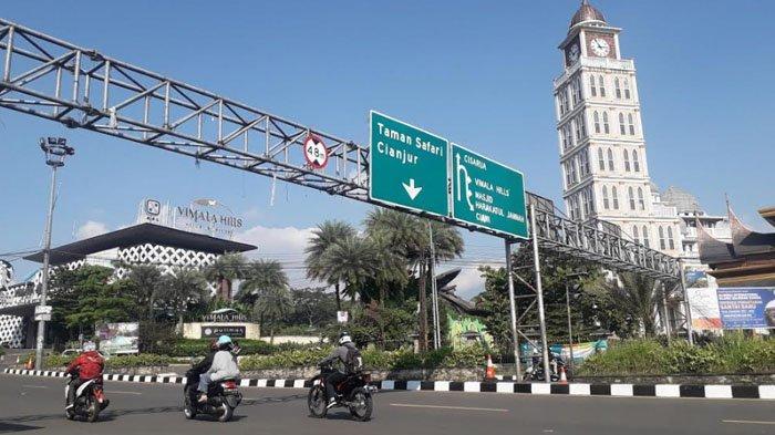 Libur Waisak, Lalu Lintas Kendaraan di Jalan Raya Puncak Bogor Ramai Lancar