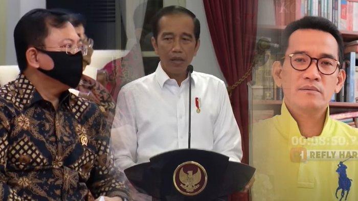 Jokowi 'Sentil' Menkes Soal Anggaran Baru Cair 1,53 Persen, Refly Harun Singgung Orang yang Hebat