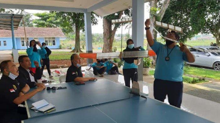 Kunjungi Lanud ATS, Cabor Aeromodeling Kabupaten Bogor Siap Menatap Porprov Jawa Barat 2022