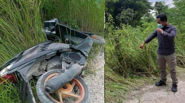 Pria Dilaporkan Hilang, Motornya Ditemukan di Semak-semak, Sempat Chat Kakak Minta Tolong