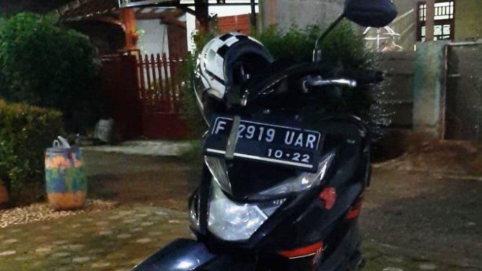 Parkir di Perumahan Bumi Cibinong Endah, Motor Wartawan TribunnewsBogor.com Hilang