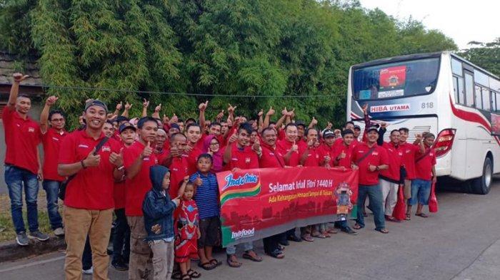 Mudik Gratis, Ribuan Pedagang Mie Rebus di Bogor Pulang Kampung