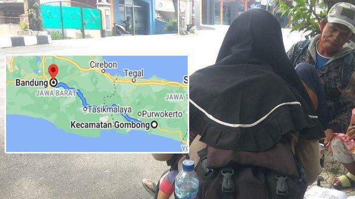 Tempuh 280 KM, Keluarga Nekat Mudik Jalan Kaki dari Gombong ke Bandung, Uang yang Dibawa Bikin Sedih