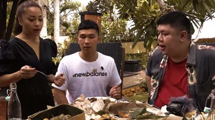 Mukbang Makanan Bali, Tubuh Indra Priawan Banjir Keringat Gara-gara Ini, Nikita Willy : Basah Semua