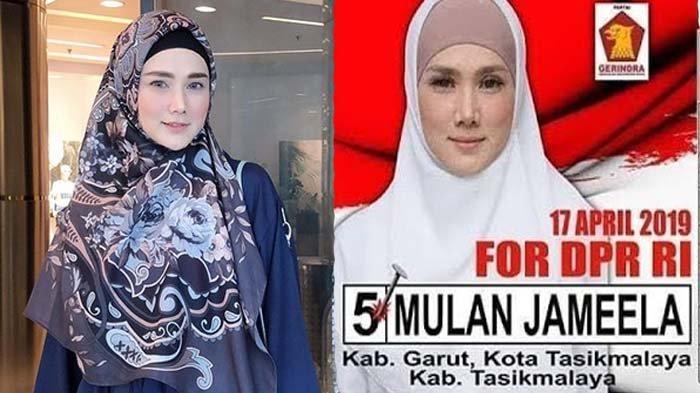Dicecar Wartawan Usai Pembelakalan Anggota MPR, Mulan Jameela Pura-pura Lakukan Ini
