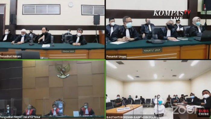 Soal Tayangan Persidangan, Rizieq Shihab Minta PN Jaktim Berlaku Adil