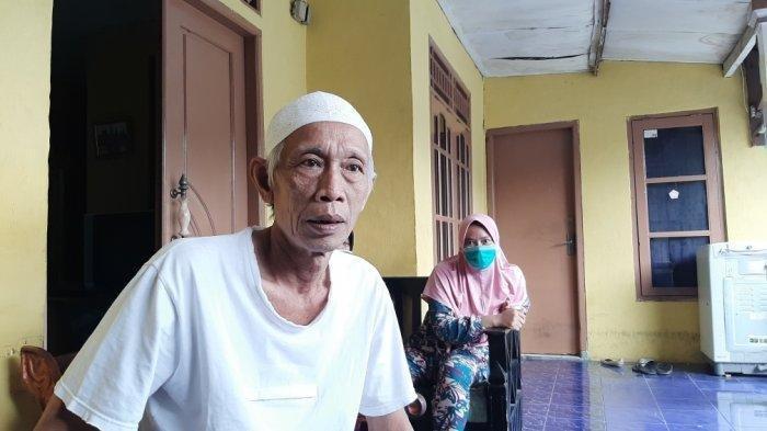 Musa, sopir omprengan yang viral saat ditemui di kediamannya di Jalan Tipar, Cimanggis, Depok, Senin (25/1/2021) (TribunJakarta/Nur Indah Farrah Audina)
