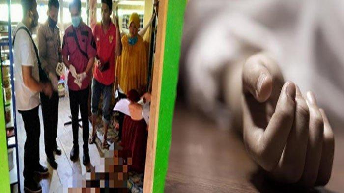 Kronologi Suami Mutilasi Istri, Bocah 8 Tahun Lari Lihat Ayahnya Histeris Peluk Jasad Sang Ibu