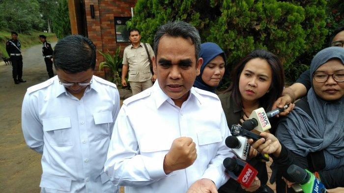 Ahmad Muzani Temui Prabowo Untuk Melobi Partai Lain Terkait Pemilihan Ketua MPR