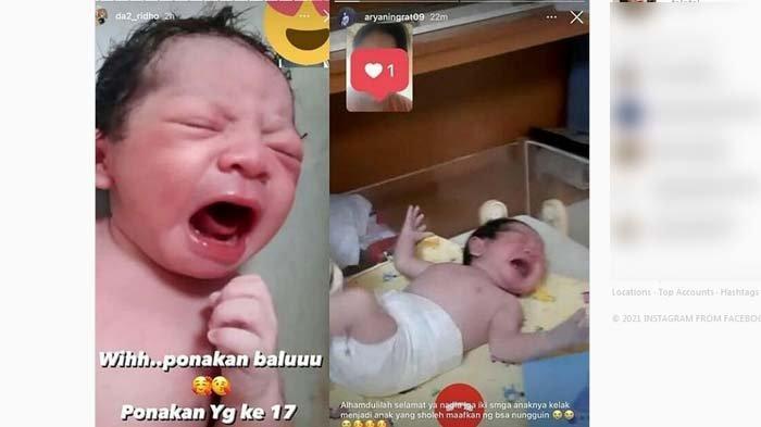 Nadya Mustika Rahayu istri Rizki DA melahirkan