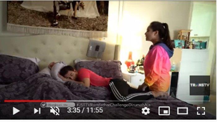 Nagita Slavina Bangunkan Tidur Suami Pakai Cara Ini, Raffi Ahmad Seloroh: Cermin Istri Durhaka