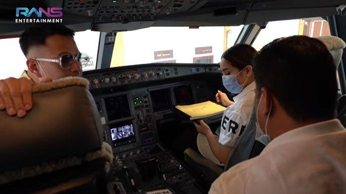 Nagita Slavina dan Raffi Dapat Kesempatan Langka Saat di Pesawat, Dirut Garuda Singgung Rumah Tangga