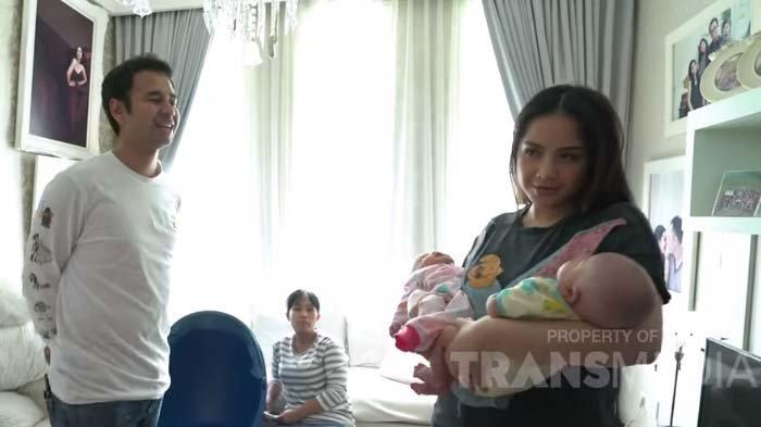 Nagita Sebut Dirinya Mama saat Gendong Bayi Kembar Syahnaz, Raffi Ahmad: Udah Kangen Peluk Bayi Ya