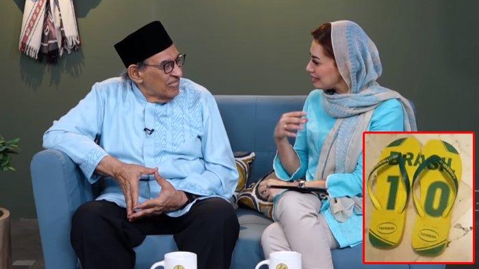Jenguk BJ Habibie Bareng Najwa Shihab, Quraish Shihab: Beliau Tak Henti Ulas Senyum