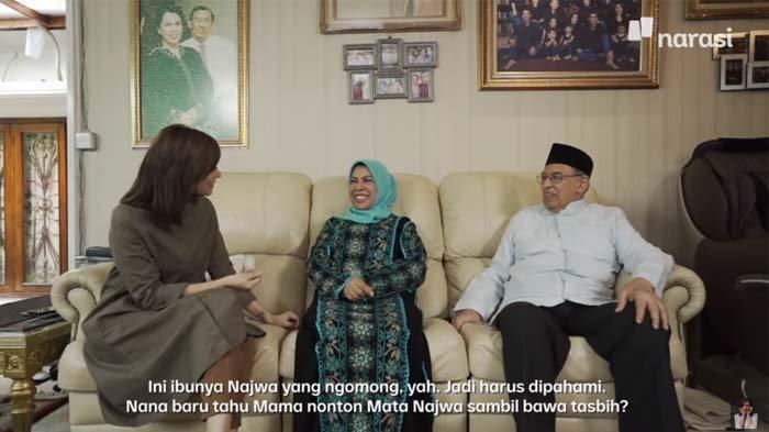 Kerap Lakukan Ini saat Nonton Mata Najwa, Ibunda Bikin Najwa Shihab Kaget : Jangan Terlalu Berani