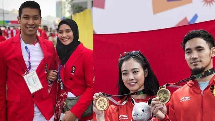 5 Pasangan Kekasih dan Suami Istri Asal Indonesia yang Raih Medali di Asian Games 2018