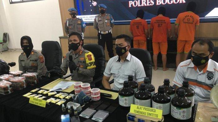 Kontrakan di Buah Batu Bandung Jadi Home Industry Narkoba, Polres Bogor Bekuk 3 Pemuda