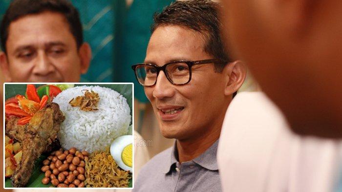 Sandiaga Sebut Harga Nasi Ayam Jakarta Lebih Mahal dari Singapura, Kubu Jokowi Bongkar Fakta Lain
