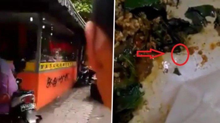 Istirahat Makan Siang Beli Nasi Padang, Wanita Ini Menjerit Lihat Makhluk Ini di Dalam Bungkusnya