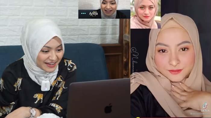 Wanita Ini Beberkan Rahasia Make Up Mirip Istri Sule, Nathalie Syok : Bikin Hidungnya Pakai Apa ?