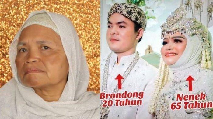 VIRAL ! Nenek 65 Tahun Nikahi Brondong 20 Tahun, Penampilan si Nenek Bikin Pangling Bak Gadis