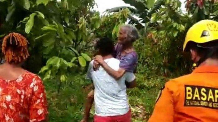 Hilang 2 Hari, Nenek Berusia 110 Tahun Ditemukan Selamat Satu Kilometer Dari Rumahnya