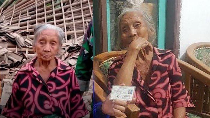 Detik-detik Nenek 92 Tahun Selamat dari Gempa Malang 6,7 SR, Lompat ke Luar Sebelum Rumahnya Roboh